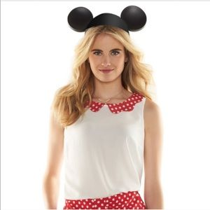 LC Lauren Conrad - Disney - Red & White Polka Dot